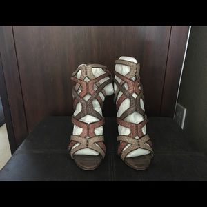 B for Brian Atwood Carbinia Sandal